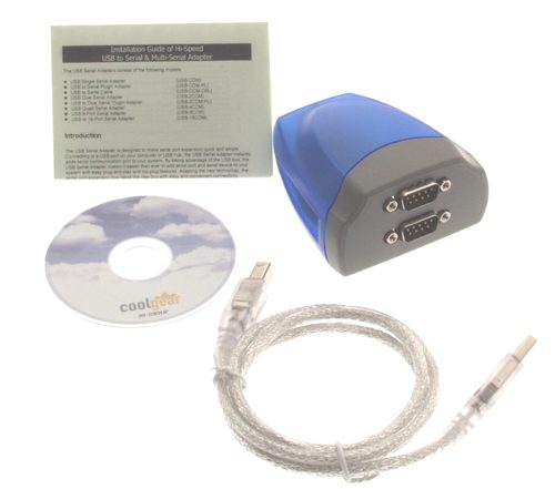XC-232-C Dual Port USB to Serial Adapter image