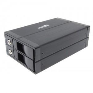 USB3-RAID2X USB 3.0 RAID Enclosure with Backup