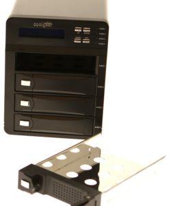 USB3-RAIDBoX USB 3.0 Raid Enclosure box front panel image