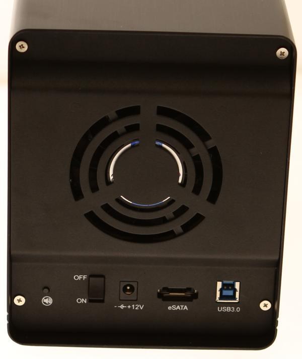 USB3-RAIDBoX USB 3.0 Raid Enclosure back panel image