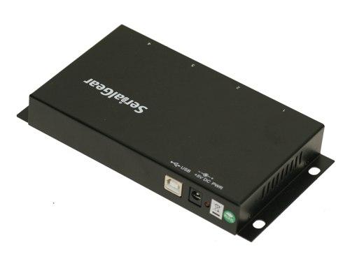 CM-41042 4 port USB Serial Adapter power port image