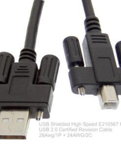 SC-U3MAB USB 2.0 Screw Lock Cable