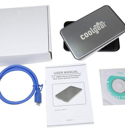 SATA2 to USB 3.0 Ultra Portable 2.5 inch External Enclosure