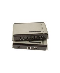 10 port USB 2.0 to Cat 6 / 5e Ethernet Extender