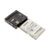 SATA hard drive connection to sata/IDE adapter