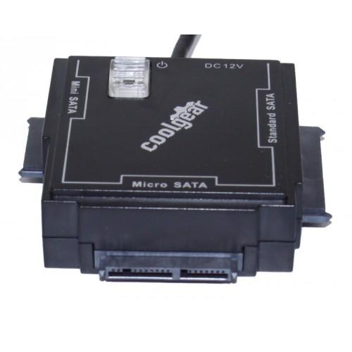 SS-125SSD USB 2.0 to SATA Hard Drive Adapter