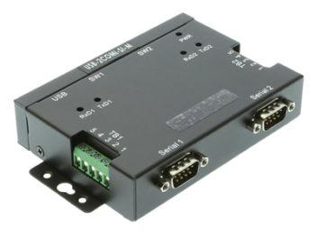 2 Port USB to RS-422/485 auto setup adapter image