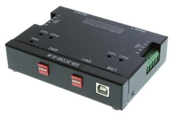 USB-2COMi-SI-M DIP switch settings