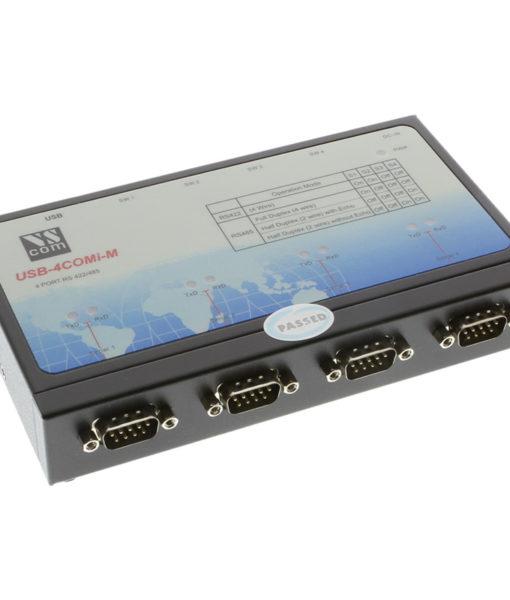 USB-4COMi-M DB-9 Male Ports