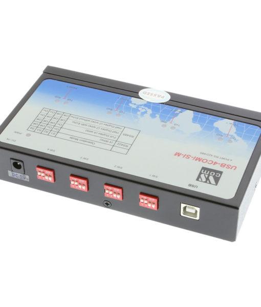 USB-4COMi-SI-M 4 Port RS422 Serial AdapterDIP Switch Control