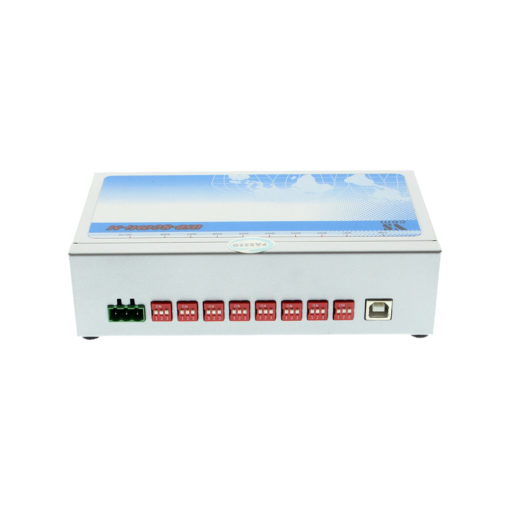 8 Port USB to Serial RS-422 / 485 Metal case DIP Switches