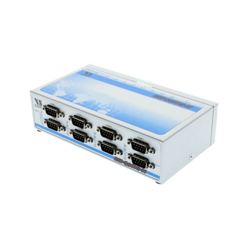 8 Port USB to Serial RS-422 / 485  Metal case DIN-Rail mountable