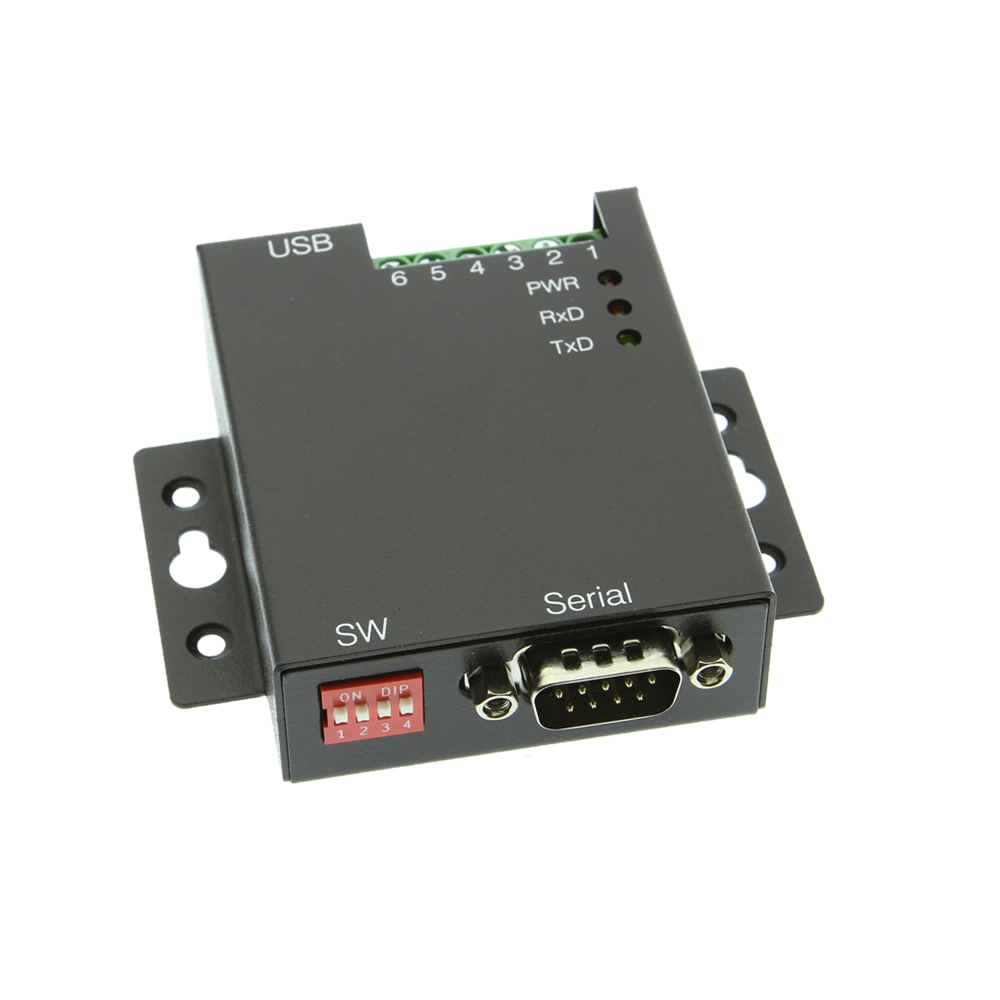 USB to RS-232 Selectable RS-422 – RS-485 Industrial Adapter