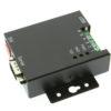 USB-COMi-M LED Status Indicators and Mounting Flange