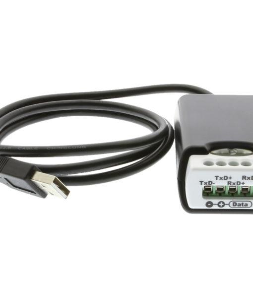 USB-COMi-TB USB to RS485 Adapter Closeup Terminal Block