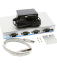 USB2-4COM-PRO 4-Port Serial Adapter Package Contents image