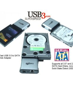 Ultra-Fast USB 3.0 to SATA Hard Disk Adapter image