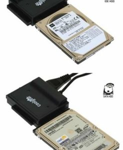 USB 2.0 to IDE 2.5 inch Laptop Drives Connected