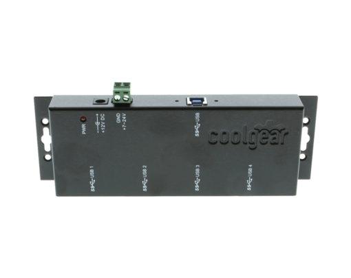 USBG-3X4M USB 3.0 4-Port Hub LED status indicators