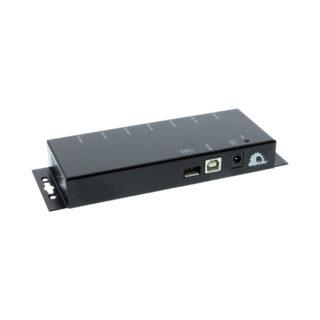 7 Port USB 2.0 Metal Hub USB Power