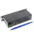 USBG-7U3ML USB 3.0 7-Port Hub Size Comparison