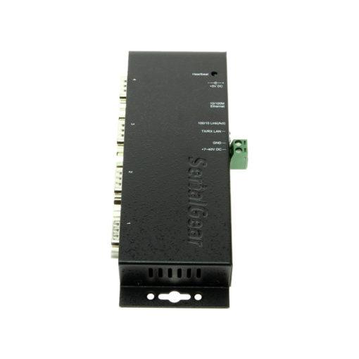 Ethernet Gateway Label and Port Designations