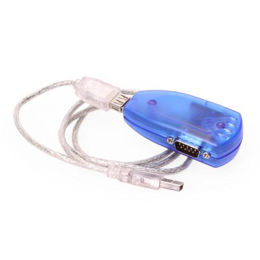 Dual Port RS-232 USB-to-Serial Plugin Adapter