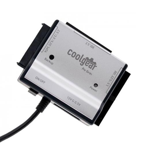 SATA and IDE Drive to USB Adapter Kit Pro Aluminum Shell
