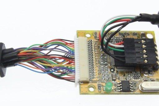 The CG-4X232FTDI internal circuit image