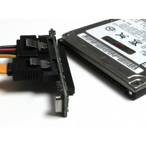 2.5 Hard Drive to SATA adapter close up image