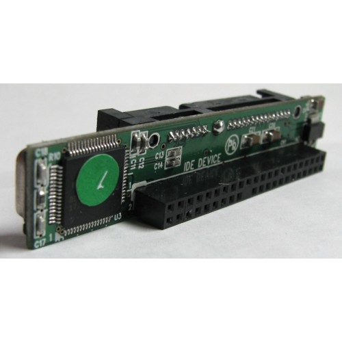 44P-SATA 2.5 inch 44 Pin IDE to SATA Hard Drive Adapter