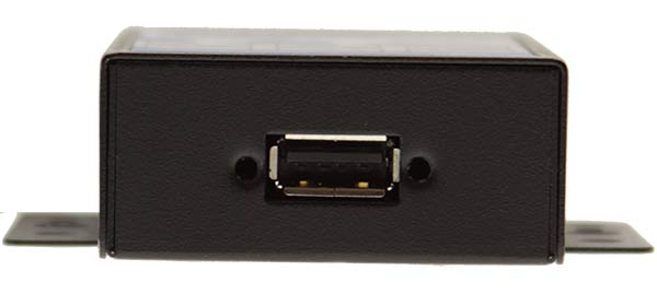 USB Isolator 3000 Vrms Rugged Metal Chassis port image- USBG-ISO-M