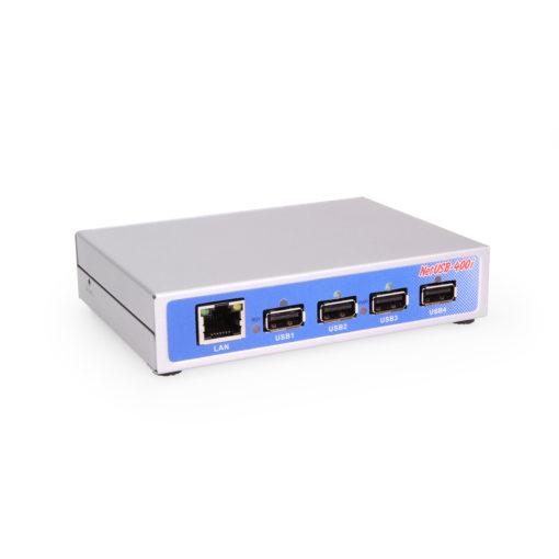 Industrial USB 2.0 Over IP Network 4-Port Hub – TCP/IP Network 4 Port Network Hub