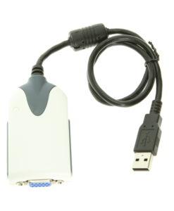 USB 2.0 Video Card Adapter SVGA for Windows XP/Vista/7/8