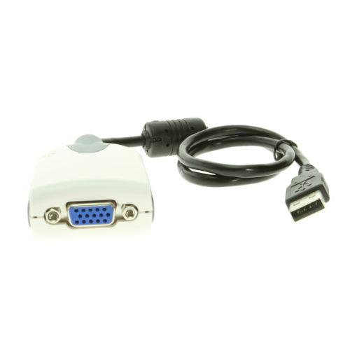 USB 2.0 Video Card Adapter SVGA for Windows XP/Vista/7/8 USB 2.0 Video Card