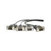 DB9 Male RS232 Screw Lock Serial Connectors