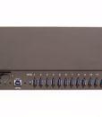 USB3-16U1 16 Port USB 3.0 Metal Hub with Surge Protection and DIN-RAIL Mounting Kit