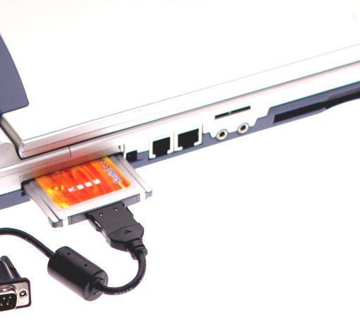 Serial PCMCIA in Laptop Controller Port