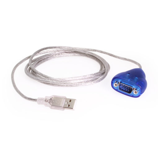 6 foot USB to RS-232 Serial Adapter DB-9 Male, FTDI Chipset