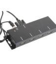 USBG-4SU2MLA Metal 4-Port USB 2.0 Powered Hub