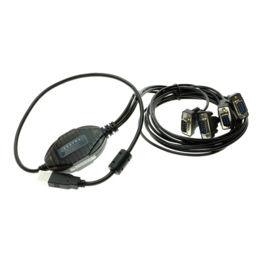 Screw lock RS232 DB-9 connectors