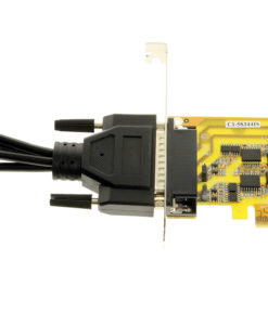 Breakout Cable Connection to PCIe Card Adapter
