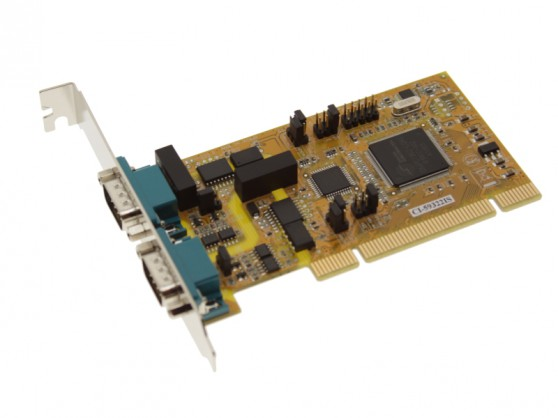 2 Port PCI 422/485 w/ Isolation & Surge Suppression