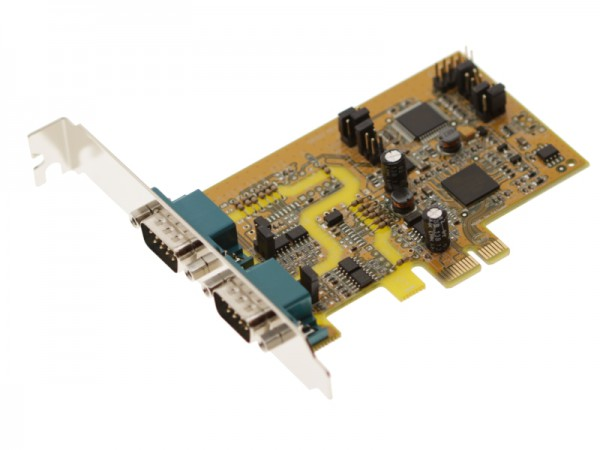 PCI Express Card RS485 2 Ports - SG-PCIE2S422485