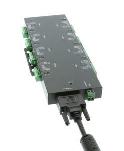 sg-pcie8srs422485mod Cable Connection