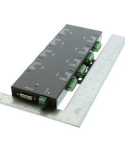 Optically Isolated 8 Port PCI Express Module Size