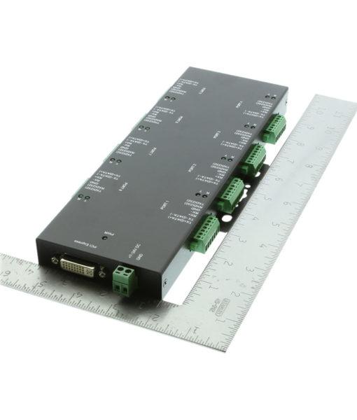 Optically Isolated 8 Port PCI Express Module Size