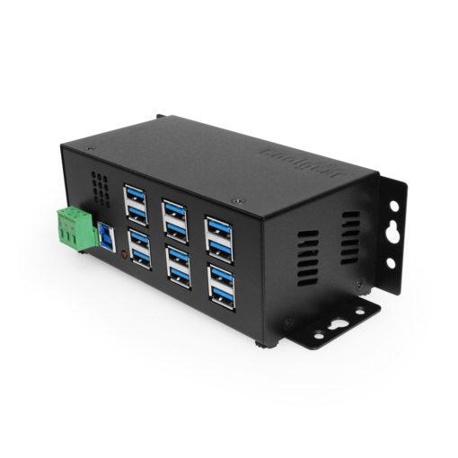 12 Port USB 3.2 Gen 1 Hub w/ Port Status LEDs #1 Main Listing