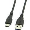 USB3-AC1MB-AtoC-30-Black