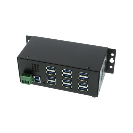 USB 3.0 12 Port Mountable Hub